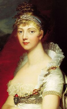 Princess Louise of Baden,18o7 by Jean Laurent Mosnier