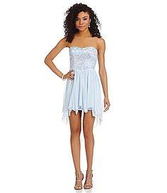 Teeze Me Sequin Bodice Dress #Dillards