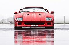 Ferrari #F40, The best super car of all time.