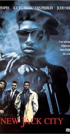 New Jack City: Special Edition on DVD from Warner Bros. Directed by Mario Van Peebles. Staring Wesley Snipes, Judd Nelson, Chris Rock and Ice-T. More Action, Cops/Police and Drama DVDs available @ DVD Empire. Judd Nelson, Ice T, 90s Movies, Great Movies, Movie Tv, Dope Movie, Awesome Movies, Movies 2019, Watch Movies