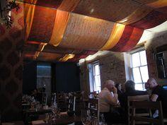 Melbourne, Australia - Seamstress restaurant.