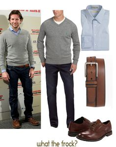 What the Frock? - Affordable Fashion Tips and Trends: Guy Style: Bradley Cooper