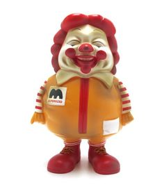 Supersize Me by Ron English. This creation screams truth in a fun and disturbing way.