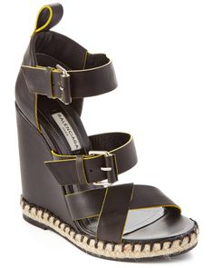 Spotted this Balenciaga Rope Track Wedge Sandal on Rue La La. Shop (quickly! Hooker Heels, Expensive Handbags, Boutique, Walk On, Shoe Game, Wedge Sandals, Balenciaga, Uggs, Flip Flops