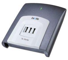 DeTeWe TA 33 Clip ISDN-Adapter zum Anschluss analoger Geräte