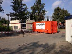 2014 10 01 Eerste container ketenpark.