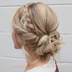 33 Gorgeous Updo Braided Hairstyles for Any Occasion; Braid styles for long or medium length hair; Easy hairstyles for women. French Braid Hairstyles, Braided Hairstyles For Wedding, Fancy Hairstyles, Box Braids Hairstyles, Updo Hairstyle, Bun Updo, French Braids, Wedding Updo, Braided Updo