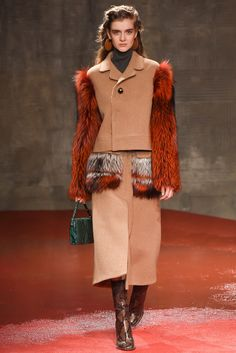 Marni Fall 2015 Ready-to-Wear Fashion Show - Sophia Ahrens