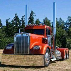 Kenworth Show Trucks Big Rig Trucks, Heavy Duty Trucks, Show Trucks, Heavy Truck, Old Trucks, Custom Big Rigs, Custom Trucks, Volvo, Big Ride
