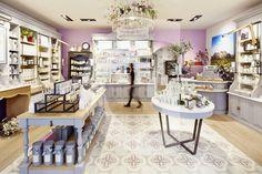 Оформление магазина Durance в Париже, Франция