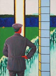 Even terugschouwen: Roger Raveel. Vincent Van Gogh, Figure Painting, Art Pictures, Art History, Belgium, Modern Art, Illustration Art, Images, Baseball Cards