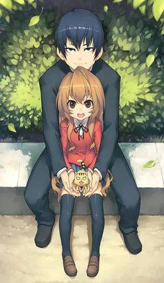 Any tora dora fans here?  How many likes for this <3  Anime:Tora dora  Ryuji&Taiga