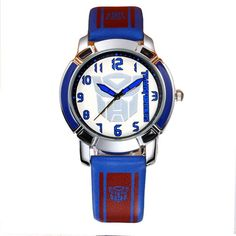 b2b2f41bb Boys Cartoon Watch Leather Printing Deformation Robot Fashion KEZZI  Children Watch K1160 High Quality Domineering Kid Wristwatch. Relógios De  ...