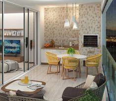 Escolha o revestimento certo e valorize até os menores dos cômodos. Afinal, quando o assunto é casa, cada cantinho merece um cuidado especial, não é mesmo?  Ref. HD-57030 | 57x57 cm | Brilhante    #grupofragnani #incefra #revestimento #cerâmico #decoração #decor #inspiração #piso #pisoceramico #areagourmet #apartamento #sacada