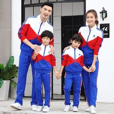 Family Matching Active Clothing Sets Mother Daughter Father Son Clothes Family Set Parent-Child Family Clothing Sets FY57