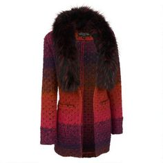 Fabulous Furs Marbled Knit Sweater w/ Faux-Fur Collar $329.99                      Our Price Now:                                           $400.00                      Comp Value Was: