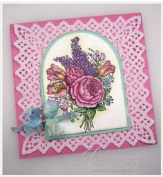Spring Bouquet by rebeccadeeprose - Cards and Paper Crafts at Splitcoaststampers