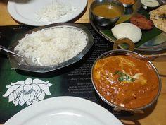 butter chicken lunch special / desi dosa madras (surrey, BC)