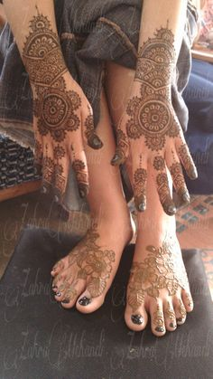 Natural henna wedding tahun 2013