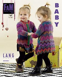 Lang Yarns - Fatto a Mano 223 Baby by Woolmarket - issuu Knitting For Kids, Baby Knitting Patterns, Baby Patterns, Crochet Yarn, Crochet Hooks, Lang Yarns, Cute Cardigans, Cascade Yarn, Paintbox Yarn