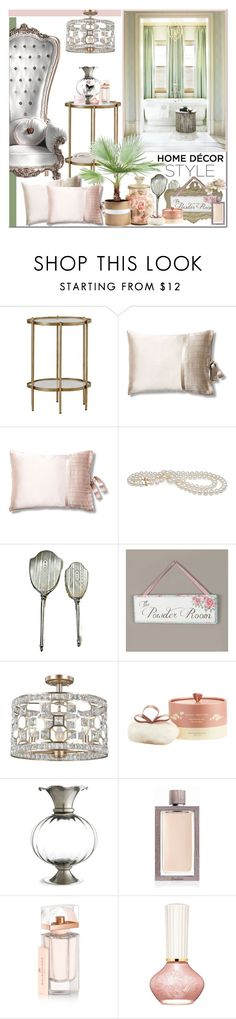 """""""The Powder Room"""" by brendariley-1 ❤ liked on Polyvore featuring interior, interiors, interior design, home, home decor, interior decorating, Gabby, kumi kookoon, Dibor and Naked Princess"""