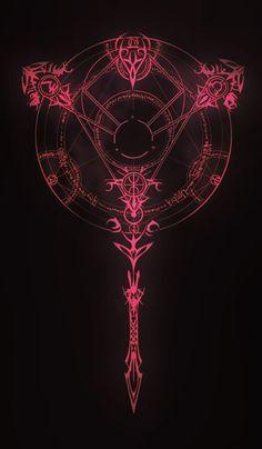 Arcanum Triunvirato Arcanum Sigil by *AenTheArtist on deviantART Dark Fantasy Art, Dark Art, Witcher Wallpaper, Satanic Art, Magic Symbols, Arte Obscura, Occult Art, Occult Symbols, Magic Circle