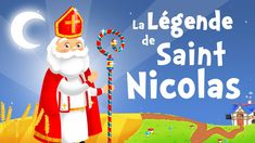 The Legend of Saint Nicholas in French - Christmas song for kids with lyrics ! French Christmas Songs, French Christmas Traditions, Christmas Songs For Kids, Old Fashion Christmas Tree, French Songs, Christmas Tree Wreath, Retro Christmas, Christmas Snowman, Christmas Videos