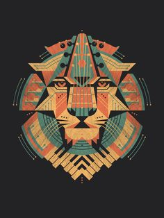 Leo Art Print | illustration by Danny Askar (DKNG)