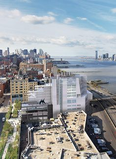 New Whitney Museum designed by Renzo Piano, opening May 1, 2015.