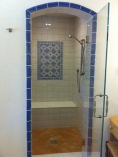 Avente Tile Project: Spanish Tile Creates Classic Look for Bath