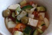 Recept Šopský salát co dům dal Detox, Meat, Chicken, Cooking, Food, Red Peppers, Kitchen, Essen, Meals