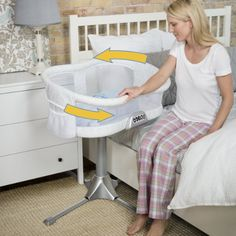 Amazon.com : HALO Bassinest Swivel Sleeper Bassinet, Premiere Series : Baby
