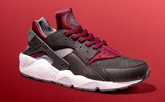 """JD Sports x Nike Air Huarache """"Black & Burgundy"""" - EU Kicks: Sneaker Magazine"""