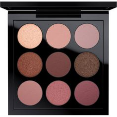 Eye Shadow x 9 Burgundy Times Nine (105 BRL) ❤ liked on Polyvore featuring beauty products, makeup, eye makeup, eyeshadow, beauty, fillers, mac cosmetics, mac cosmetics eyeshadow and palette eyeshadow