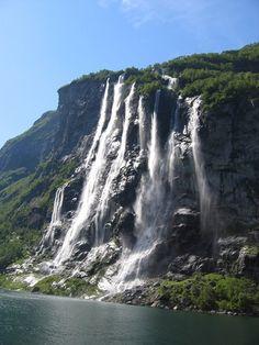 Seven Sisters, Geirangerfjord
