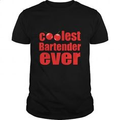 Coolest Bartender Ever Great Gift For Any Cool Bartender Fan - #dress shirts for men #sweatshirt design. ORDER NOW => https://www.sunfrog.com/Drinking/Coolest-Bartender-Ever-Great-Gift-For-Any-Cool-Bartender-Fan-Black-Guys.html?60505