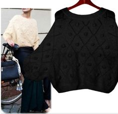 Women's Romantic Angora Knit Sweater. NOW $37.95 only! SRP 49.95