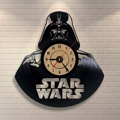 Star Wars Vinyl Record Clock $34.95