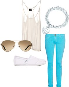 Summer Time, created by roxy-g on Polyvore