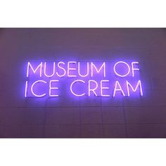 Taste-Museum-of-Ice-Cream-1 - Design Milk ❤ liked on Polyvore featuring text, phrase, quotes and saying