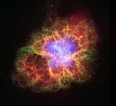 Crab Nebula: A Star's Spectacular Death (NASA, Chandra) by NASA's Marshall Space Flight Center