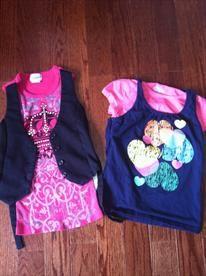 Sz 6-6x Girls Shirts  Price: $6.00