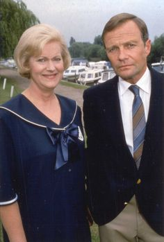 "Josephine Tewson and David Griffin, Elizabeth and Emmitt from ""Keeping Up Appearances."""