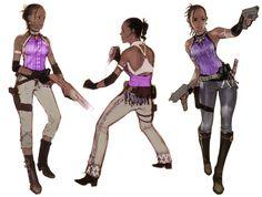 Sheva Alomar (Resident Evil 5) concept art