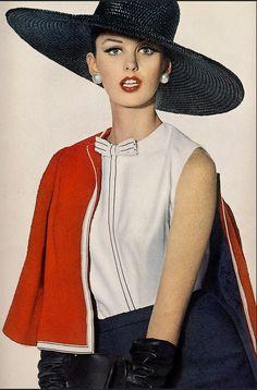 1962 Dorothea McGowan, photo by Irving Penn, Vogue Jan.