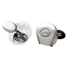 Men's Cincinnati Reds Rawlings Cufflinks, $34.99