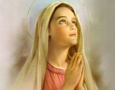 """""""My soul doth magnify the Lord : and my spirit hath rejoiced in God my Saviour. For He hath regarded : the lowliness of His handmaiden."""" Mary is a wonderful example of a modest woman."""