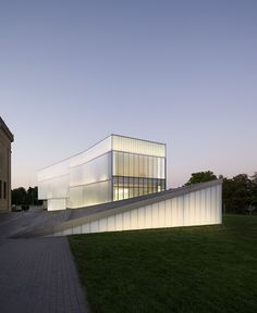 Nelson Atkins Museum Addition, Kansas City, Steven Holl Architects
