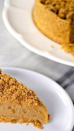 Paçoca já é uma delícia, uma torta de paçoca então fica melhor ainda!