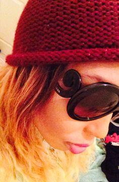 Loving my Prada shades.